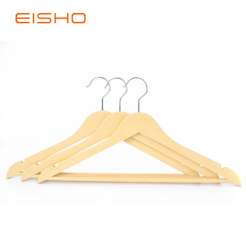 Wood-like Plastic Suit Hangers WPP001