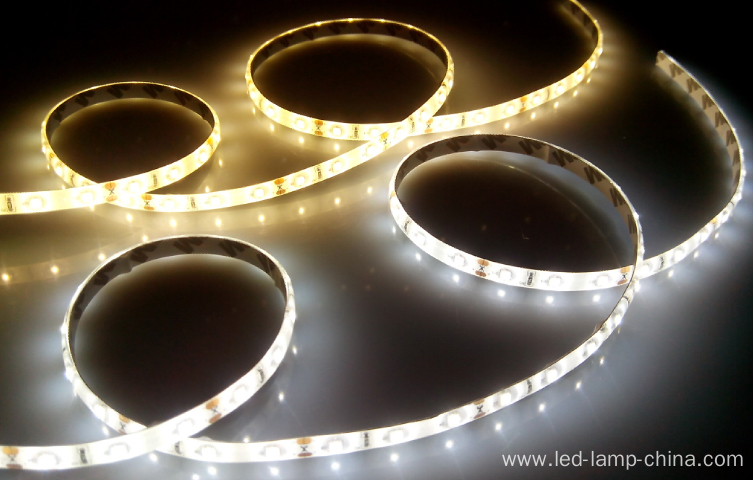 SMD2835 60 LEDs/M IP65 PU waterproof strip