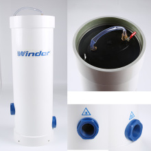 FRP filter cartridge housing for water purify