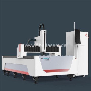 500W cnc carbon steel fiber laser cutting machine