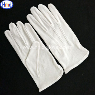 white ceremonial glove
