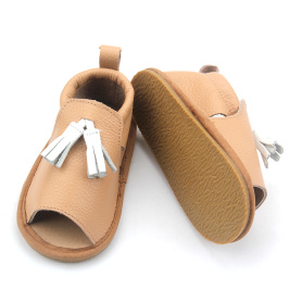 Genuine Leather Children Sandals kids Summer Shoes