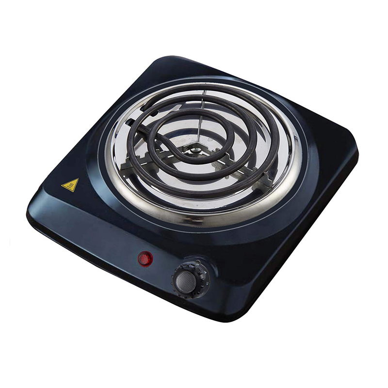 Single coiled portable Hotplate
