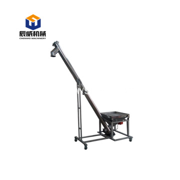 stainless steel lifting screw conveyor machine