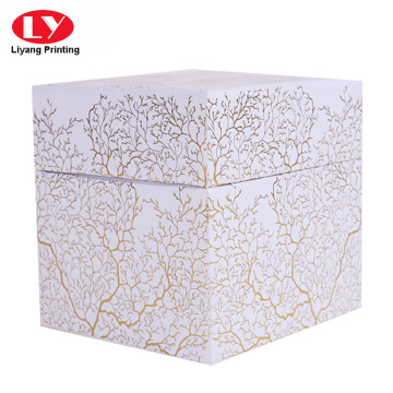 Good quality cardboard gift tea box