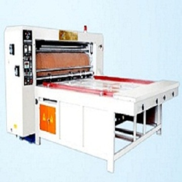 semi automatic rotary die cutting carton machine