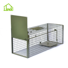 Supply for Medium Cage Trap,Animal Hunting Traps,Folding Animal Trap,Heavy Duty Live Animal Traps Manufacturer in China Professional Cat Trapper Designs export to Kenya Factory