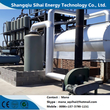 Crude Oil Recycle distillation plant