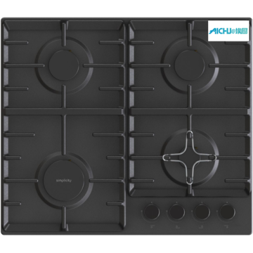 Gas On Glass Hob Gas Cooker