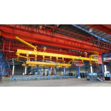 Hanging Device For Concrete Spun Pile Mould