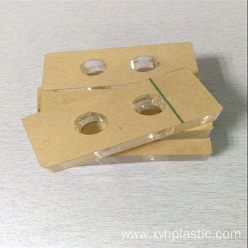 Customized clear acrylic sheet 3mm support Laser cutting
