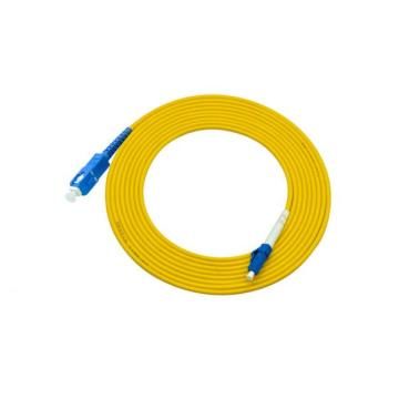 LC-SC single mode simplex patch cable