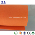 Orange felt fabric 5mm thickness