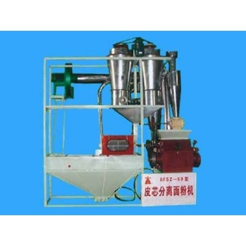 Model 6fsz-50 small flour milling machine