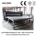 semi automatic printer slotter die cutter making machine