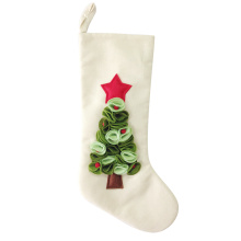 Trending Products for Christmas Stocking Holders Christmas burlap stocking with Nordic style supply to Armenia Manufacturer