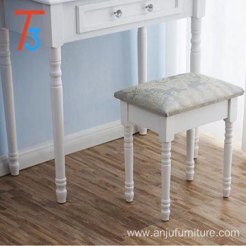 Bedroom wooden high quality dressing table dressing table chair