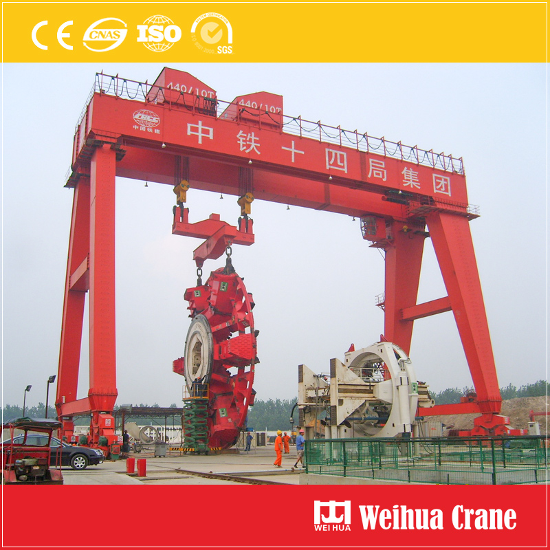Gantry Crane For Tunnel Construction