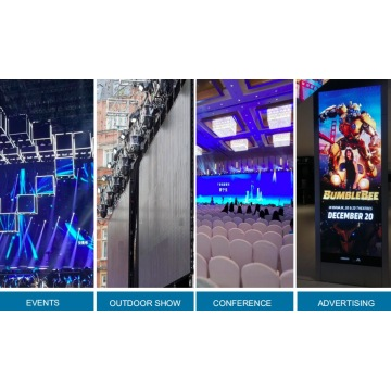 P2.9 indoor led display rentals screen