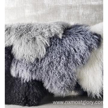 Genuine Tibetan Mongolian Lamb Fur Pelt