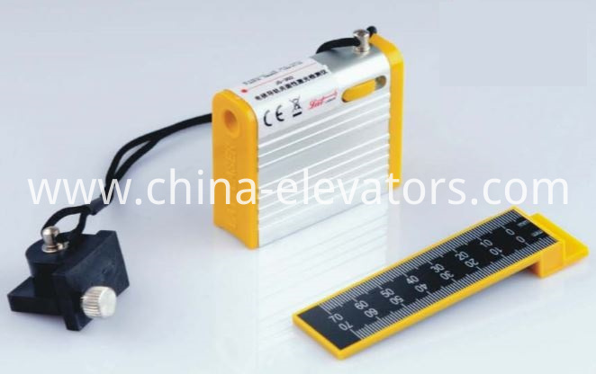 Laser Detector for Elevator Guide Rail Coplanarity