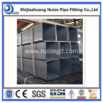hot dip galvanized steel rectangular square tube