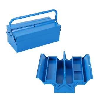 2 layer tool box with single handle