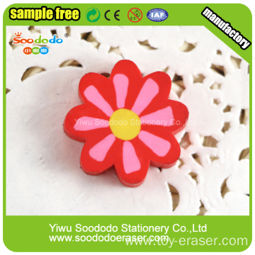 Flat custom eraser wholesale stationery set