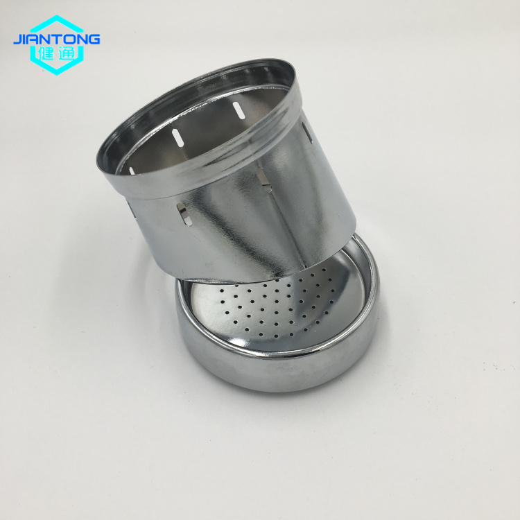 carbon steel chromed plated deep drawn stamping part