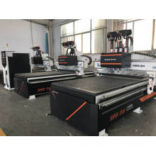 Multi- head cnc wood carving machine