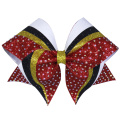 Konkurransen skinner Cheer Hair Bows