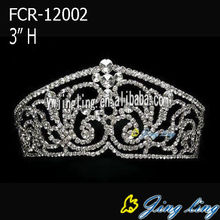 Custom Rhinestone 3 Inch Pageant Crowns