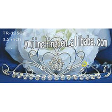Small Rhinestone Crown Princess Tiara