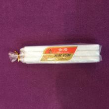 Christmas Daily Lighting Unscented Stick White Candles