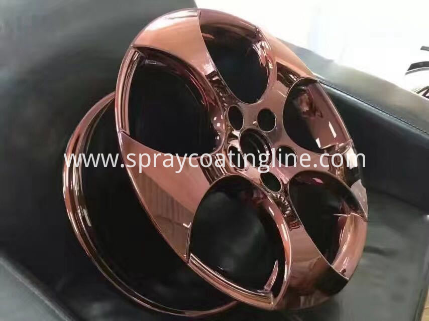 spray chrome wheel