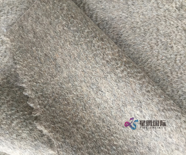 100% Wool Water Wave Fabric For Garment