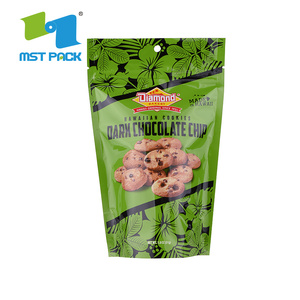 Food Grade Biodegradable Ziplock Bag with Hang Hole