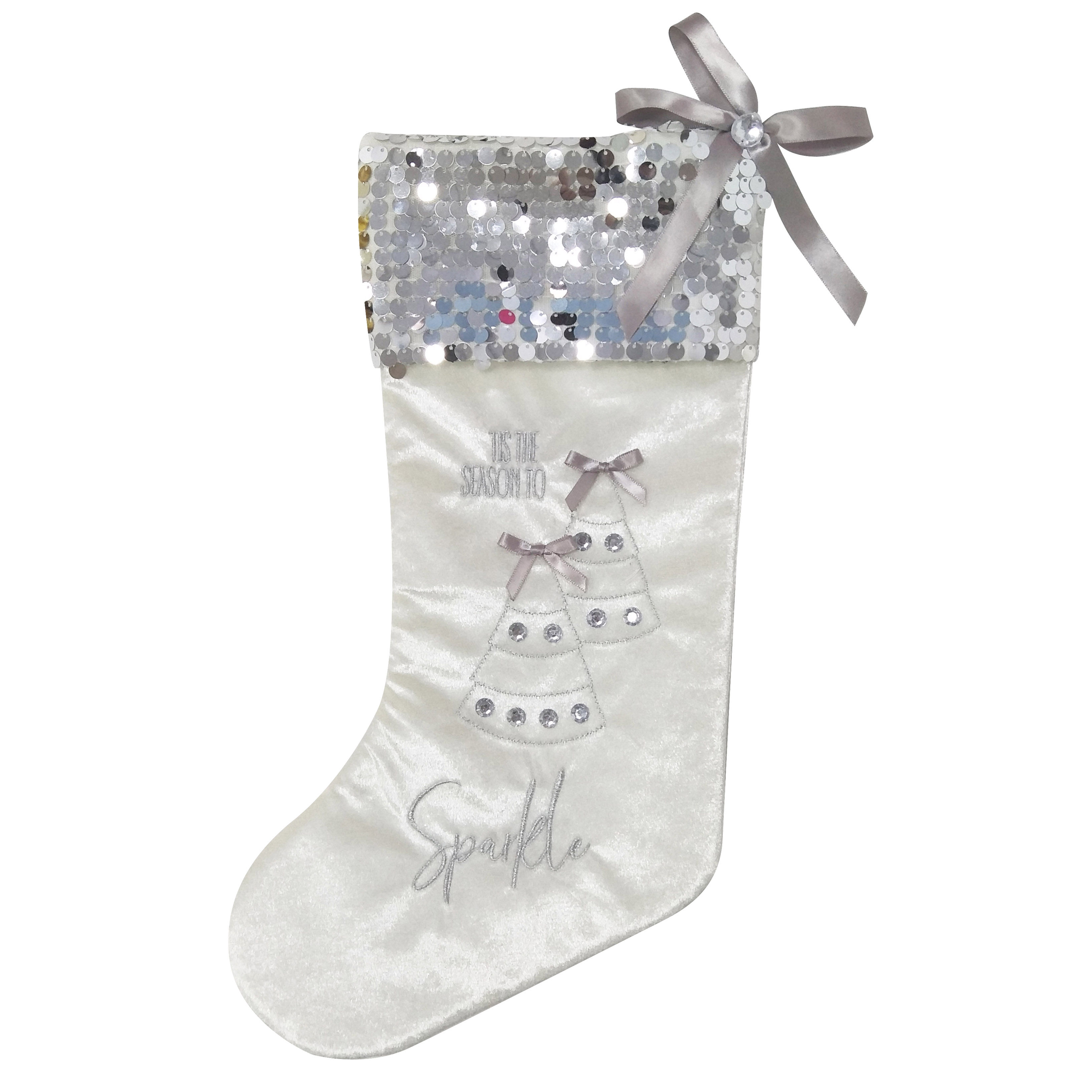 Christmas Sequin stocking gift
