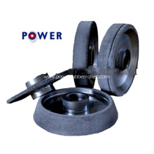 Reasonable Price Rubber Roller Grinding Wheel