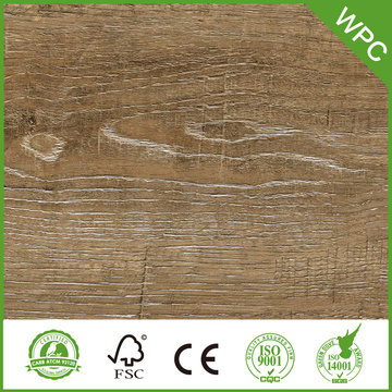 waterproof WPC floor with cork