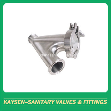 Hygienic Y-type Ball Check Valve