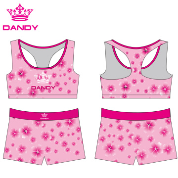 Good Quality for Black Yoga Shorts fancy design sublimated women yoga shorts supply to Malta Exporter