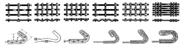 weaving type and hook type