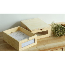 Wooden Office Drawer Container