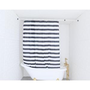 factory customized for Shower Curtain Polyester,Polyester Shower Curtain,Waterproof Shower Curtain Manufacturer in China Shower Curtain Polyester Stripe export to Sao Tome and Principe Importers