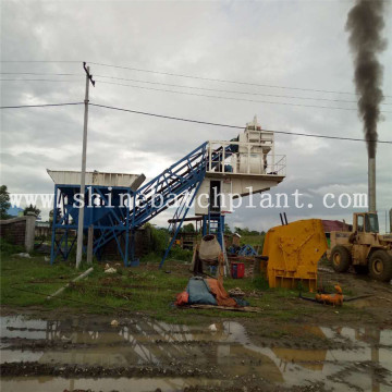 High Quality 60 Portable Concrete Batching Plant