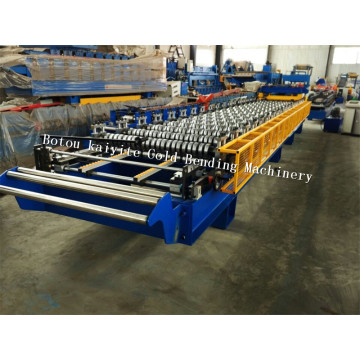 Glazed Roof Tile Roll Forming Construction Machine