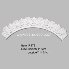Excellent quality price for Ceiling Rings Best Selling Architectural Decorative Ceiling Trim supply to Japan Importers