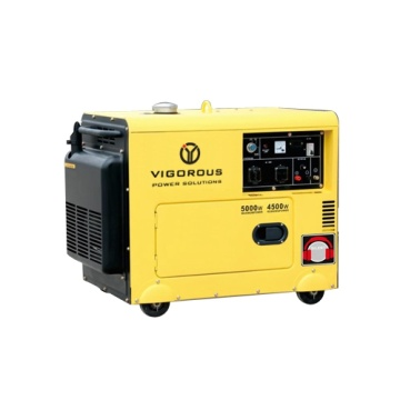 6.5KW Silent Diesel Powered Electric Generator