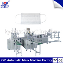 High speed face mask making machine